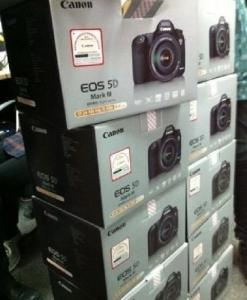 Canon EOS 5d Mark III 22.3mp dslr