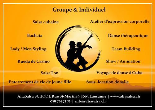 cours de danse ecole de danse lausanne