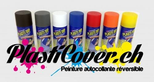 Plasticover - Plastidip Blanc mat - spray