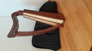 Harpe troubadour à Louer, Genève