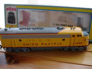 Atlas HO 8334 FP-7 Diesel Union Pacific No 1499 DC