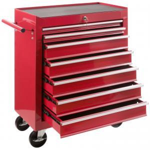 Chariot à outils 7 compartiments