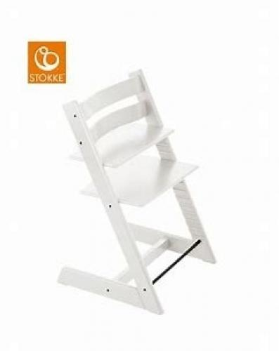 Chaise enfant Stokke blanche