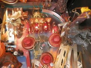 Pinball Flipper Lord of the Rings à partir de 2003