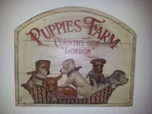"Tableau Country Corner ""Puppies Farm"""