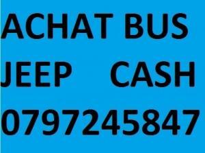 Achat  cash de véhicules 0797245847