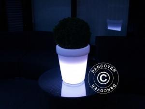 LED Blumentopf, klein, 32cm
