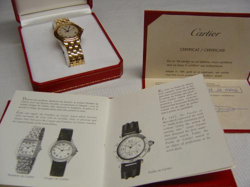 Excellente et très belle montre de collection Cartier
