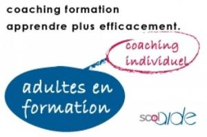 Adultes en formation. Coaching.