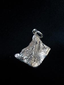 Le Cervin en pendentif argent 800 Matterhorn Il Cervino