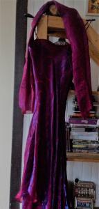 Robe de soirée Yves Calin fushia