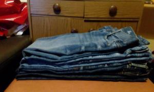Pantalons en jeans à vendre