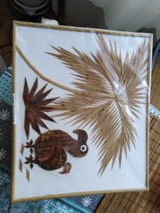 Tableau artisanal île Maurice