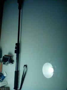 Bras telescopique pour GoPro de plus de 1m20 pas encombrant