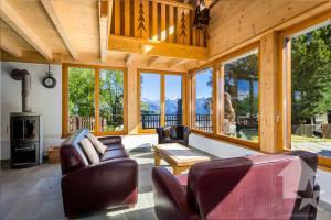 Chalet paradisiaque 4.5p, 130 m2, rénové, nature, calme et vue
