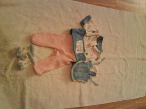 Habits baby Born Bleu et rose
