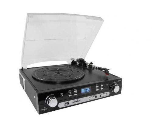 Tourne Disque, Radio, Carte sd, USB