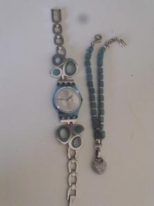 montre swatch + bracelet ESPRIT