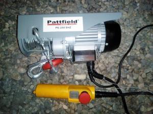 Treuil à câble Pattfield PE-250 SHZ