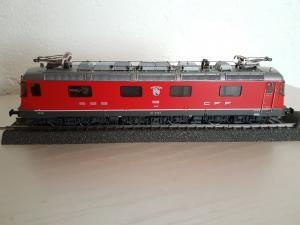 HAG HO 207.03 Re 6/6 Vernier-Meyrin avec emballage orig.