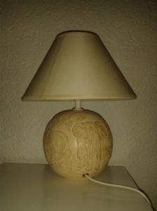 Lampes de chevet avec déco