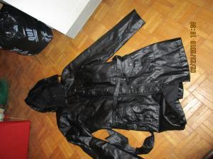 Veste en cuir noir Taille M