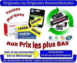 Cartouches Laser & Encre Originales Neuves & Déstockage