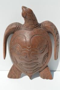Tortue avec motif maori