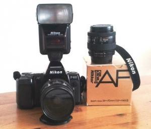 Nikon F-801 + 2 objectifs + flasch