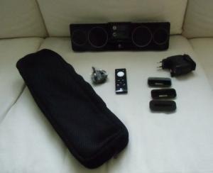 Système audio compact pour iPhone et iPo