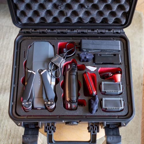 DJI Mavic Pro 4k Caméra 4 batteries