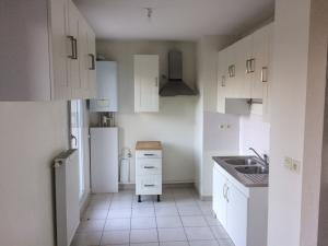 Meubles de cuisine (avec double évier et hotte)