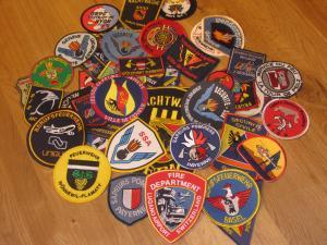 Ecussons Sapeurs Pompiers