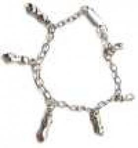 Bracelet en acier / Croise les doigts