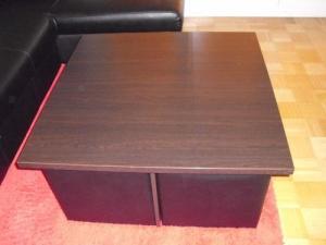 table basse de salon Wengé