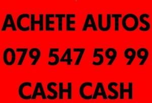 Achète CASH Voitures+4x4+bus 0795475999