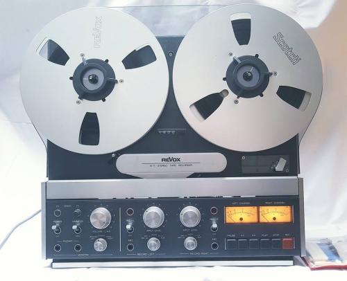 Revox Tape Recorder B77