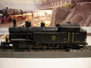 Märklin HO 37137 vapeur Eb 3/5 Habersack CFF Mfx Sound