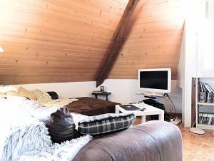 Superbe attique 3.5 p / 2 chambres / 2 SDB + une grande mezza
