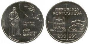 200 Escudos - A Descoberta da California