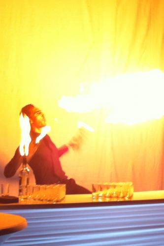 Barman jongleur cocktail Montreux Vevey