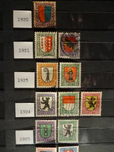 MSB : Timbres suisses Pro Juventute
