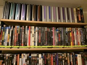 Jolie collection de DVD, 1500 DVD