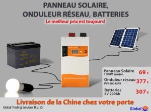 Produits solaires de Chine