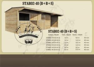 Boxes extérieurs, Boxes chevaux, Barn
