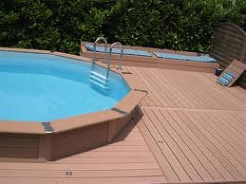 piscine composite semi enterr e