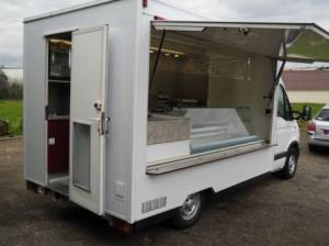 Camion Magasin Snack Renault master 2L5D