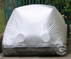 Carcoon 4x1,6 m Silber, Außenbereich