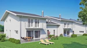 HOME SERVICE vous propose une villa jumelée de 6.5 pièces avec jardin.