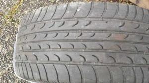 Quatre pneus été  Fulda